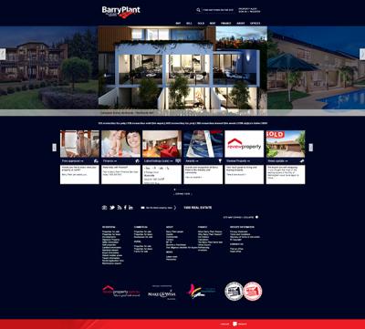 Barry Plant Real Estate Website